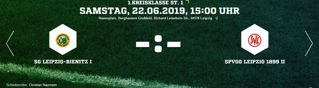 Screenshot_2019-06-18 SG Leipzig-Bienitz I - SpVgg Leipzig 1899 II Ergebnis 1 Kreisklasse - Herren - 22 06 2019